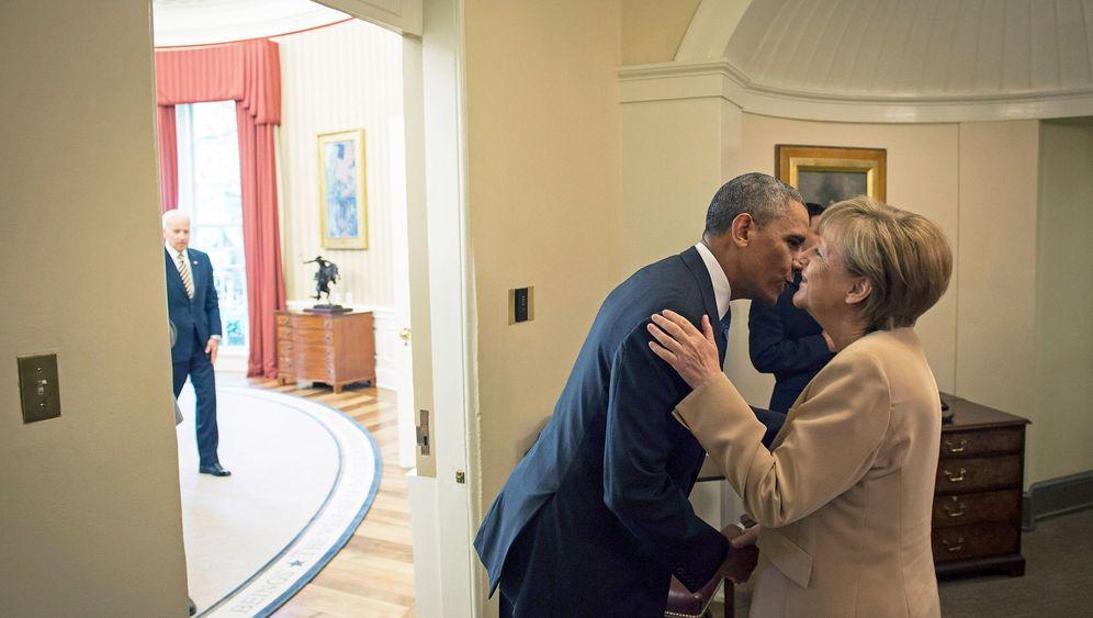 Photo Gallery: Merkel Backs Down