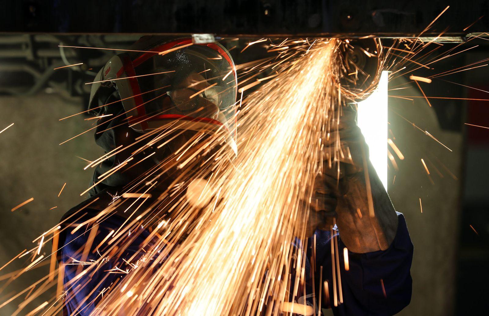 Auftragsflaute im Maschinenbau