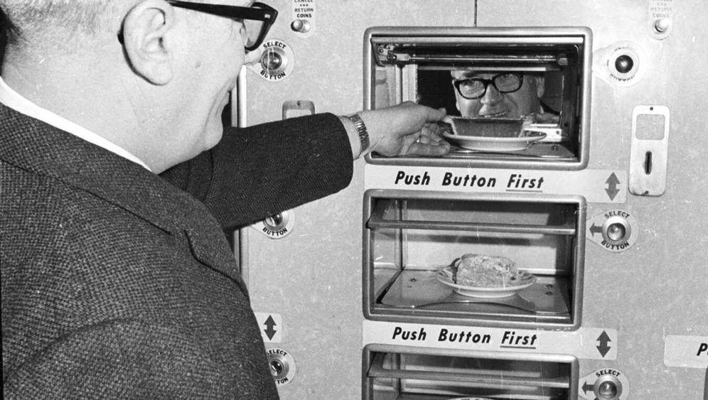 Automatenrestaurants: Klapp satt