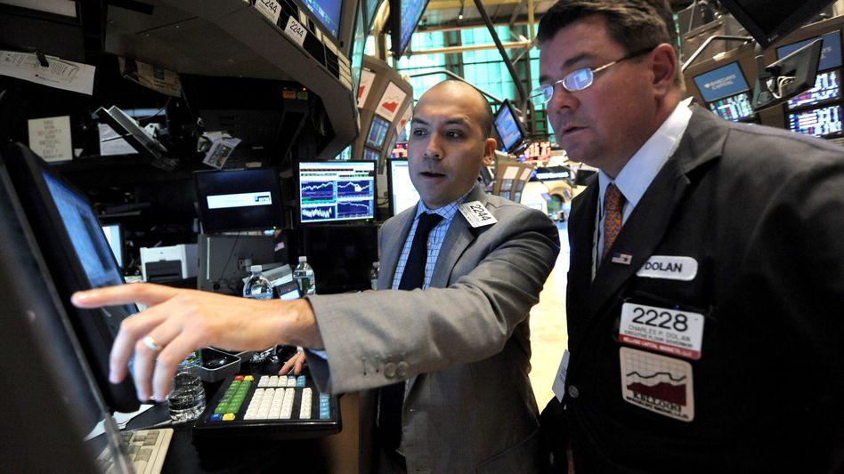 """Händler an der New York Stock Exchange: """"Kampf der Algorithmen"""""""