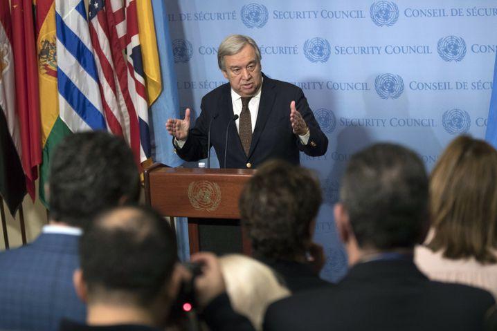 Neuer Uno-Generalsekretär Guterres