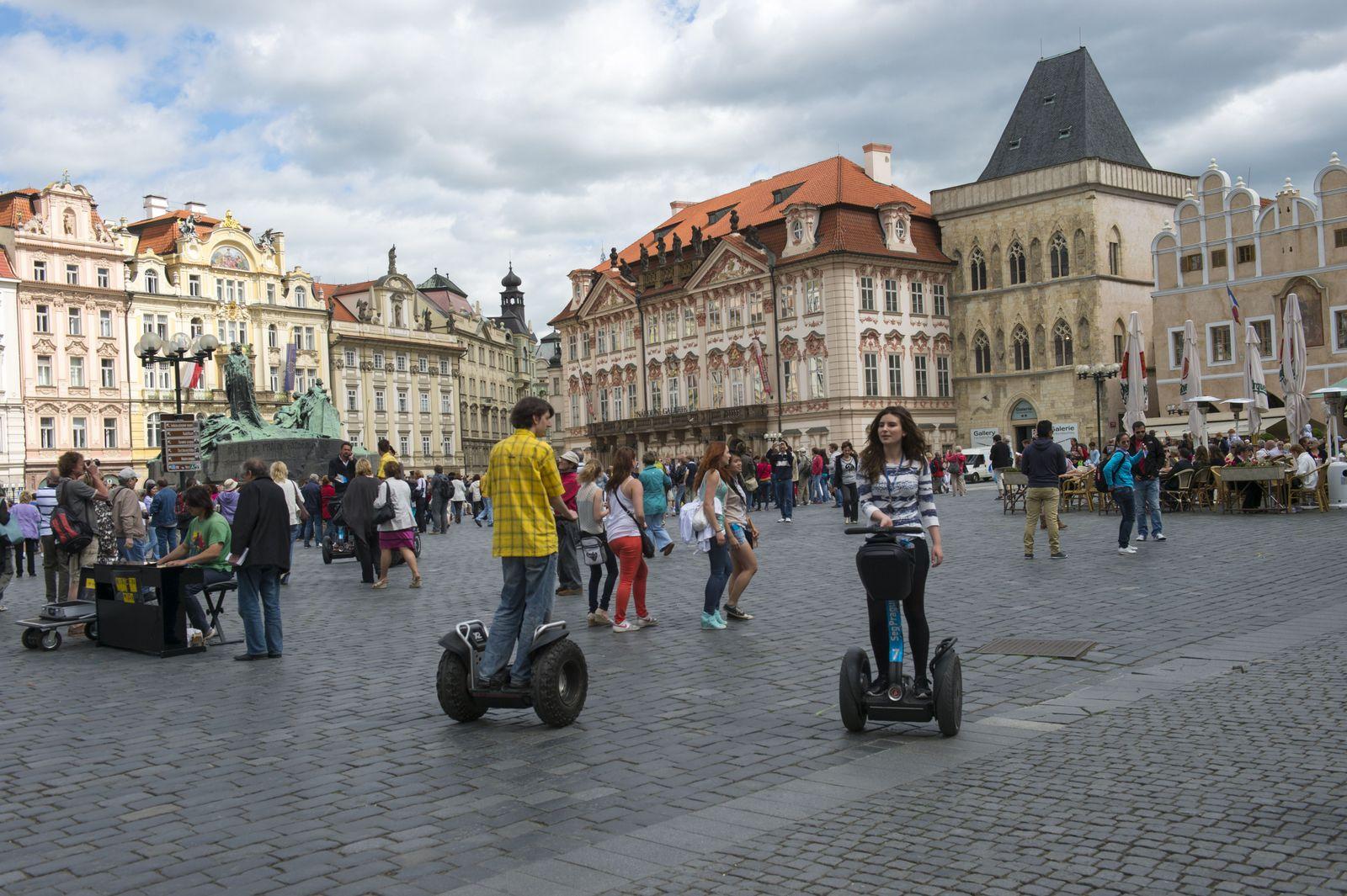 EINMALIGE VERWENDUNG Segway / Prag