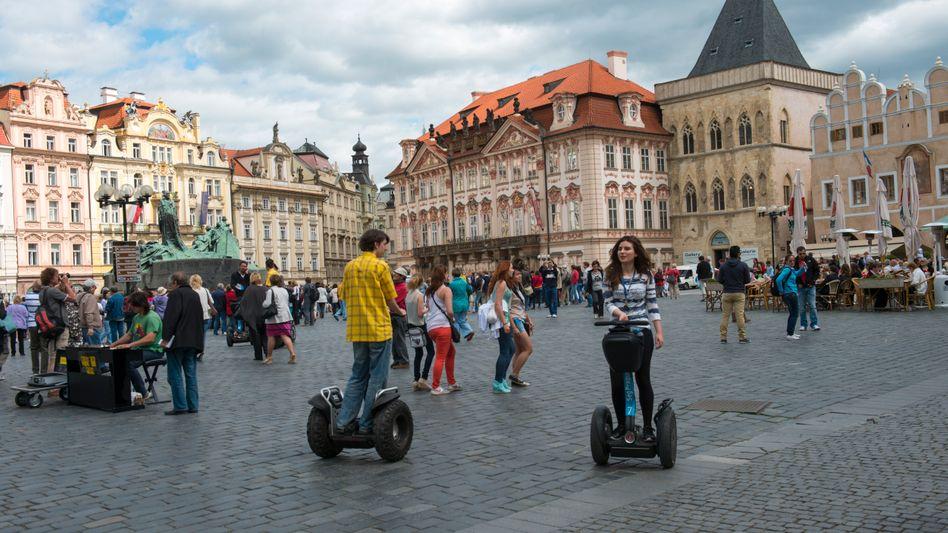 Segway-Tour durch Prags Altstadt