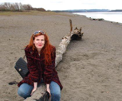 """Chelsea Cain am Strand von Sauvie Island: """"Die Strömung ist mächtig"""""""