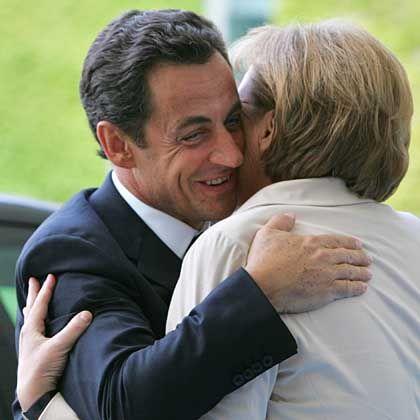 """Sarkozy und Merkel: """"Lieber Nicolas"""""""