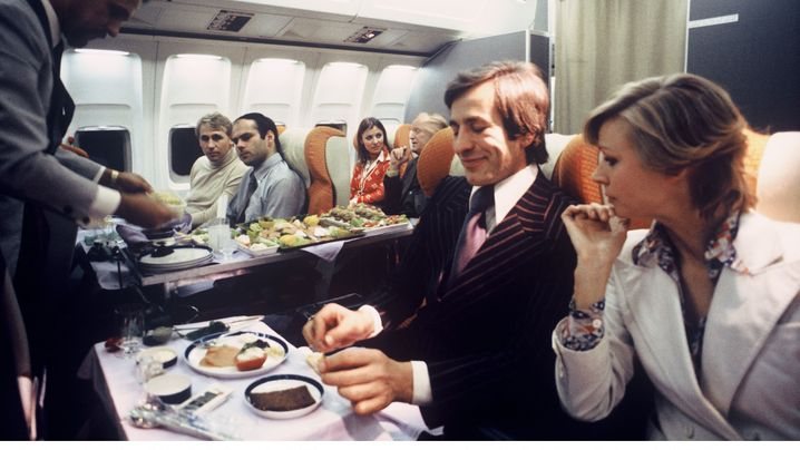 Kriselnde Luftfahrtbranche: Früher war mehr Tomatensaft