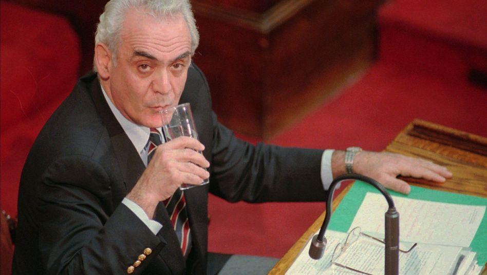 Akis Tsochatzopoulos (Archivbild): 20 Jahre Haft für einen der wichtigsten Politiker Griechenlands
