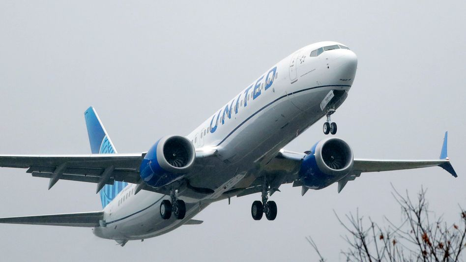Boeing »737 Max« von United