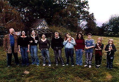 Lebensmodell Großfamilie: Die Familie Schalk