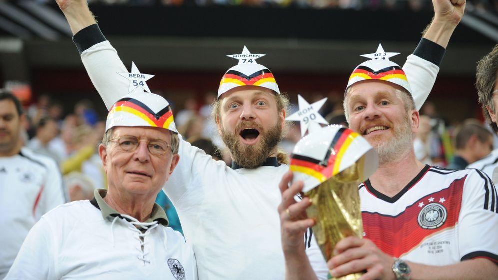Deutschland gegen Argentinien: Vier Watschn für den Weltmeister