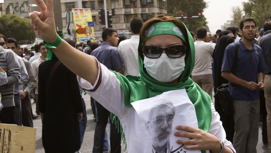 Protest gegen die Regierung: Am Israel-Tag mischten sich tausende Oppositionsanhänger unter die Demonstranten