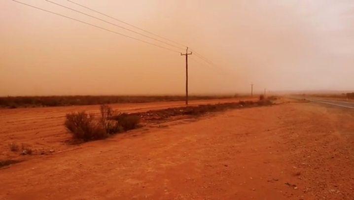 Sandsturm: Australien sieht Rot