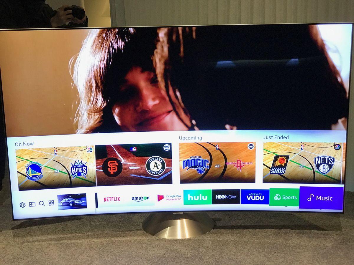 Fernseher auf der CES