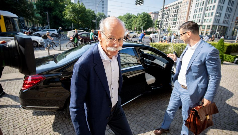 Daimler-Chef Dieter Zetsche in Berlin