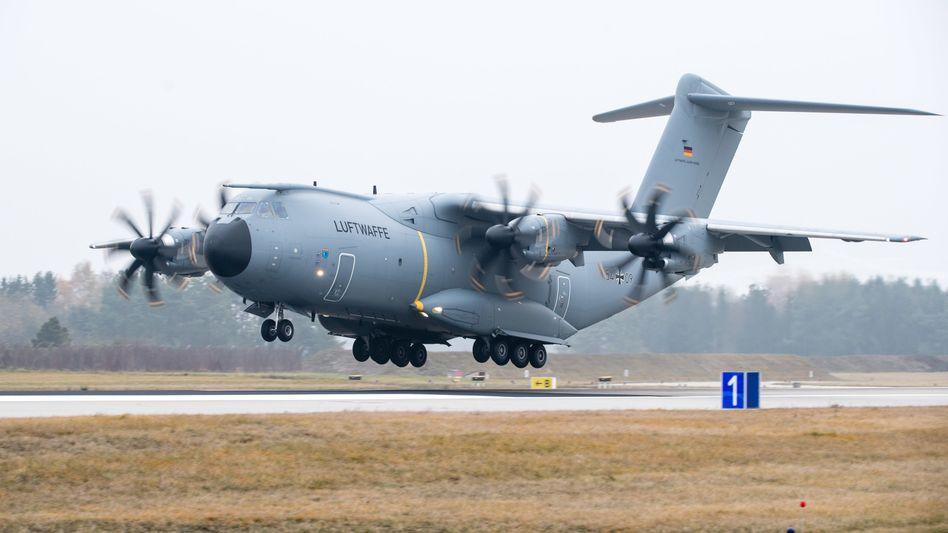 Airbus A400M der Luftwaffe (Archivbild)