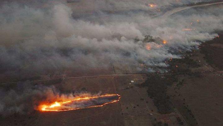 Flammenmeer: Waldbrände bedrohen Südwesten der USA