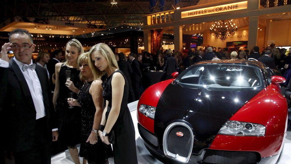 Millionärsmesse in Amsterdam: Die Bugatti-Klasse wird immer reicher