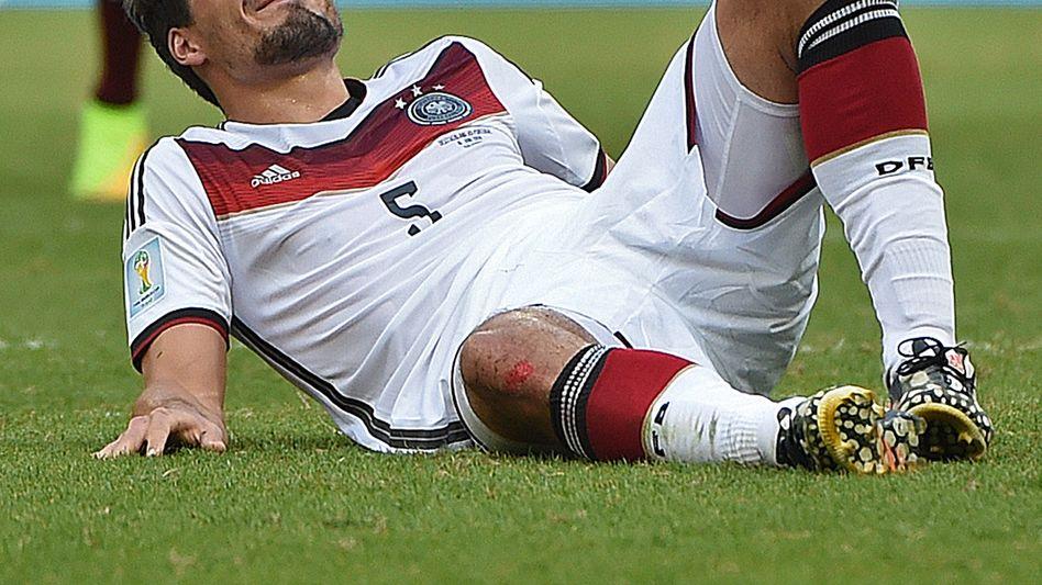 DFB-Verteidiger Hummels: Oberschenkel geprellt