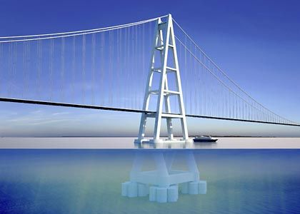 Sheikh Tarik bin Laden's bridge would be the biggest such span in the world.