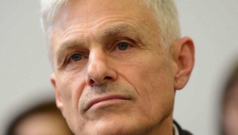 Autor Rainald Goetz: Wurde Zeit mit dem Büchner-Preis