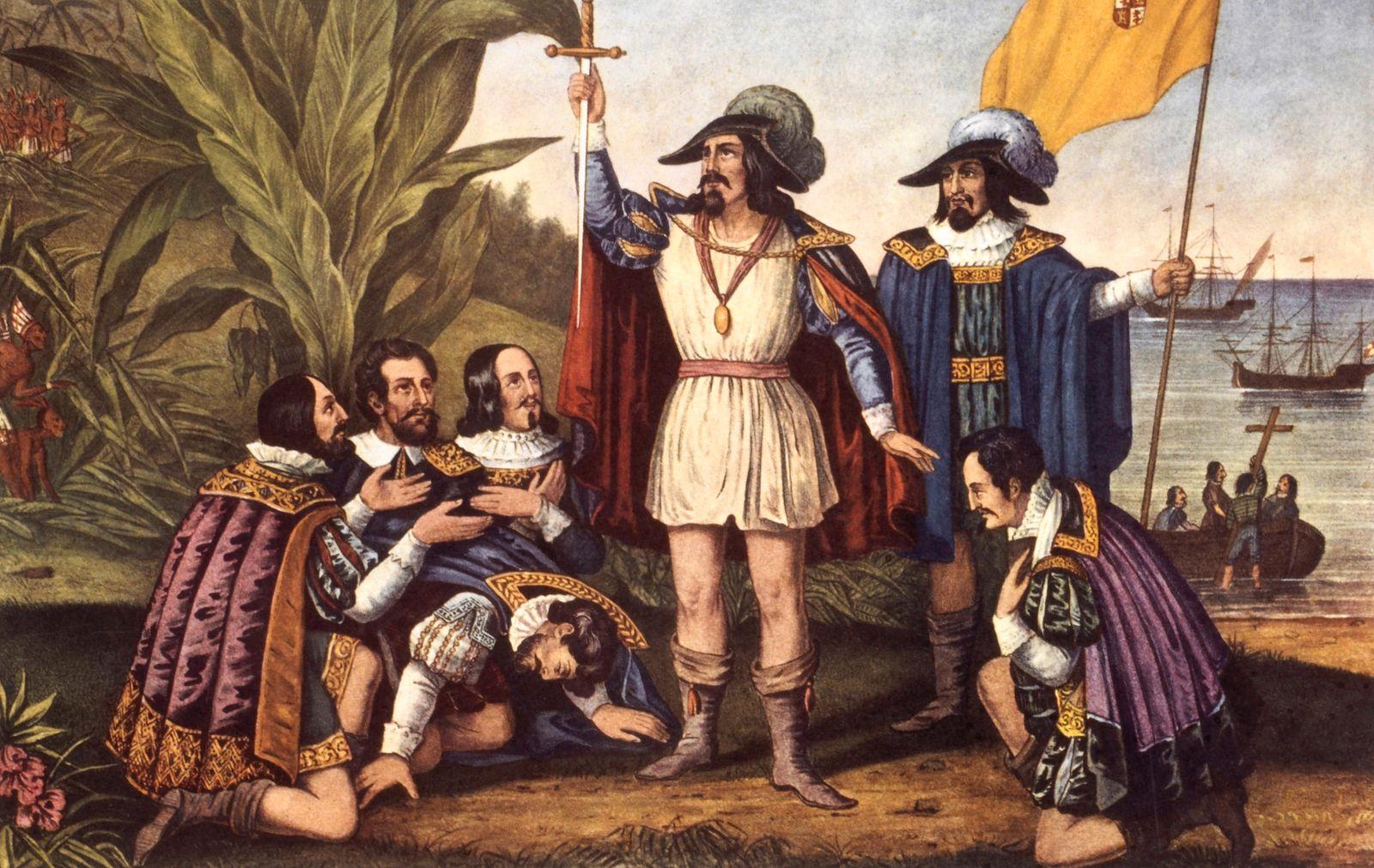 Christopher Columbus Exploration New World