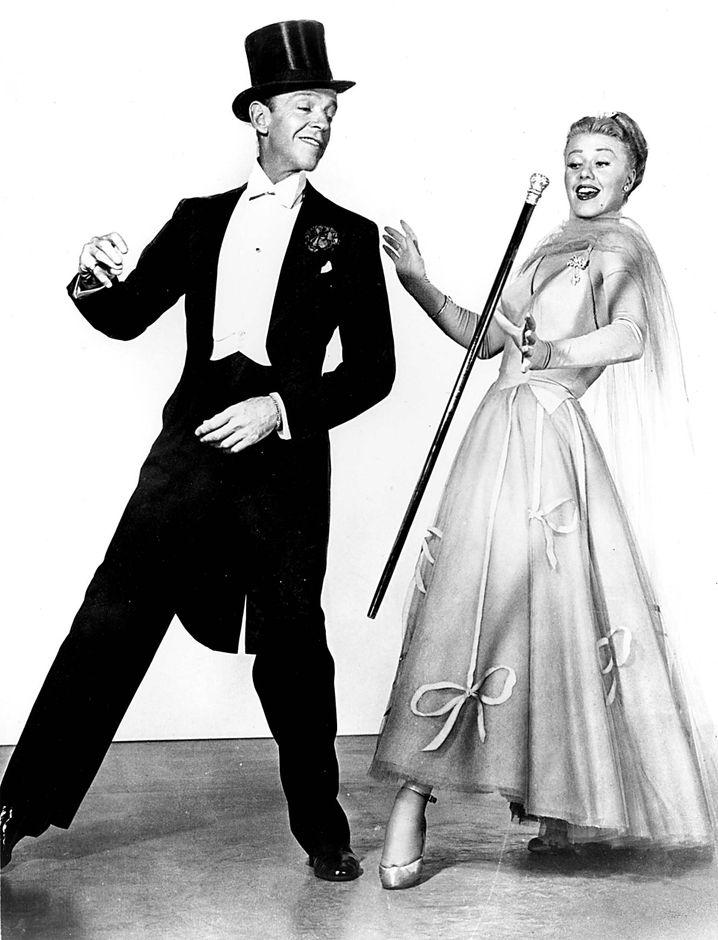Stepptänzer Ginger Rogers und Fred Astair