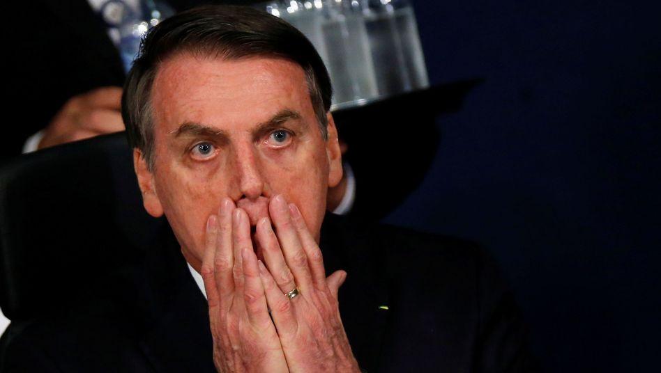 Brasiliens Präsident Jair Bolsonaro: Von dunklen Mächten verfolgt
