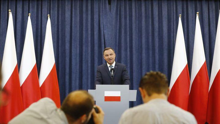 Polnischer Präsident gegen Reform: Duda blockiert