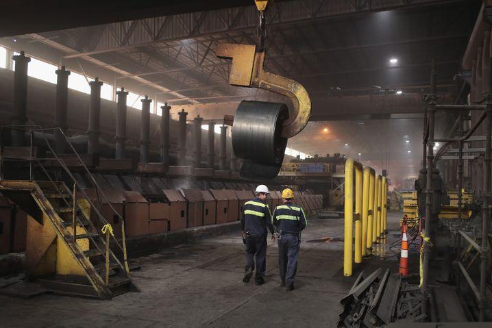 Stahlwerk in Kentucky