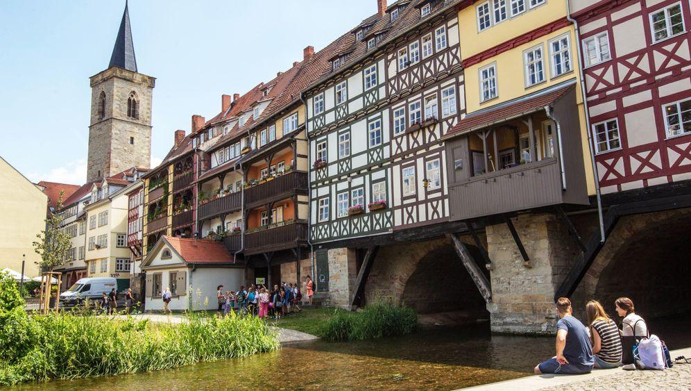 Erfurt in Thüringen: Alles so hübsch beieinander hier