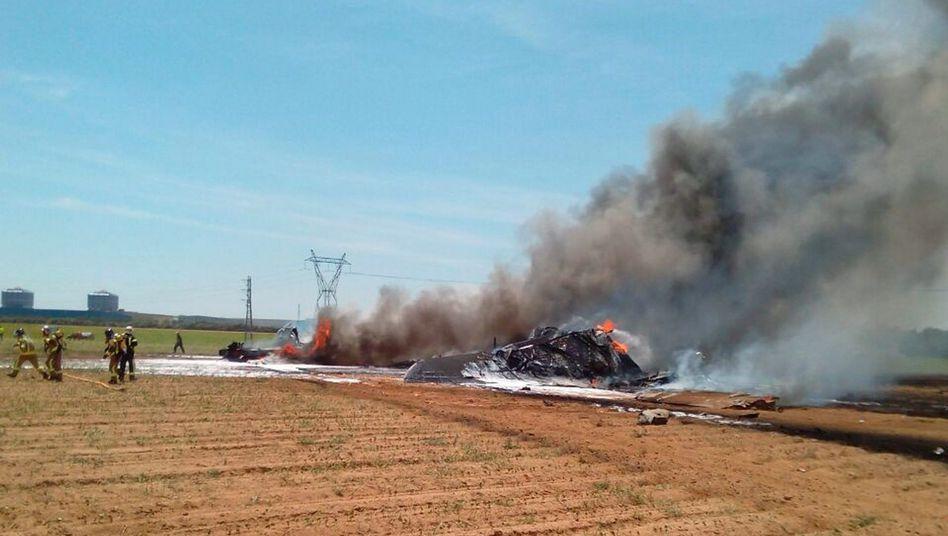 Abgestürzter Airbus A400M: Softwareprobleme führten zum Crash