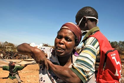 Grace Gihutwa survived the massacre at Kiambaa but lost her three-year-old daughter when the church they were in was set on fire.