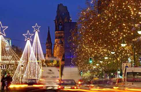 Berlin's west is still good for a Christmas market every year, but most tourists now spend their time in the east.