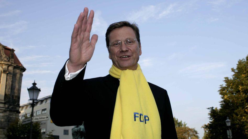 Guido Westerwelle, hier bei einer Wahlkampfveranstaltung 2009, starb 2016 an Leukämie