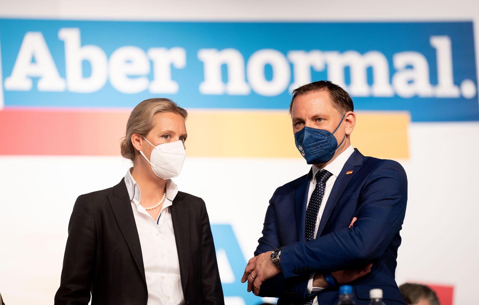 Weidel will mit Chrupalla AfD Spitzenteam bilden