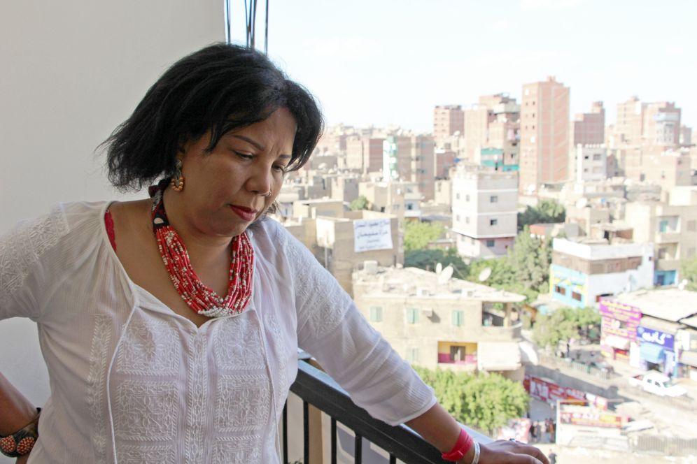 Azza Soliman von der Hilfsorganisation CEWLA