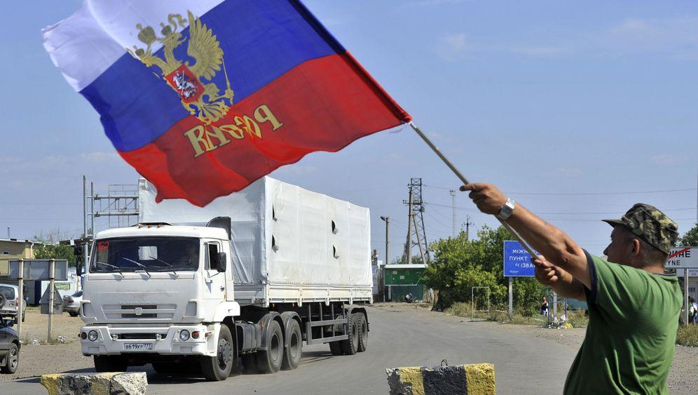 Russischer Konvoi: Putins weiße Karawane