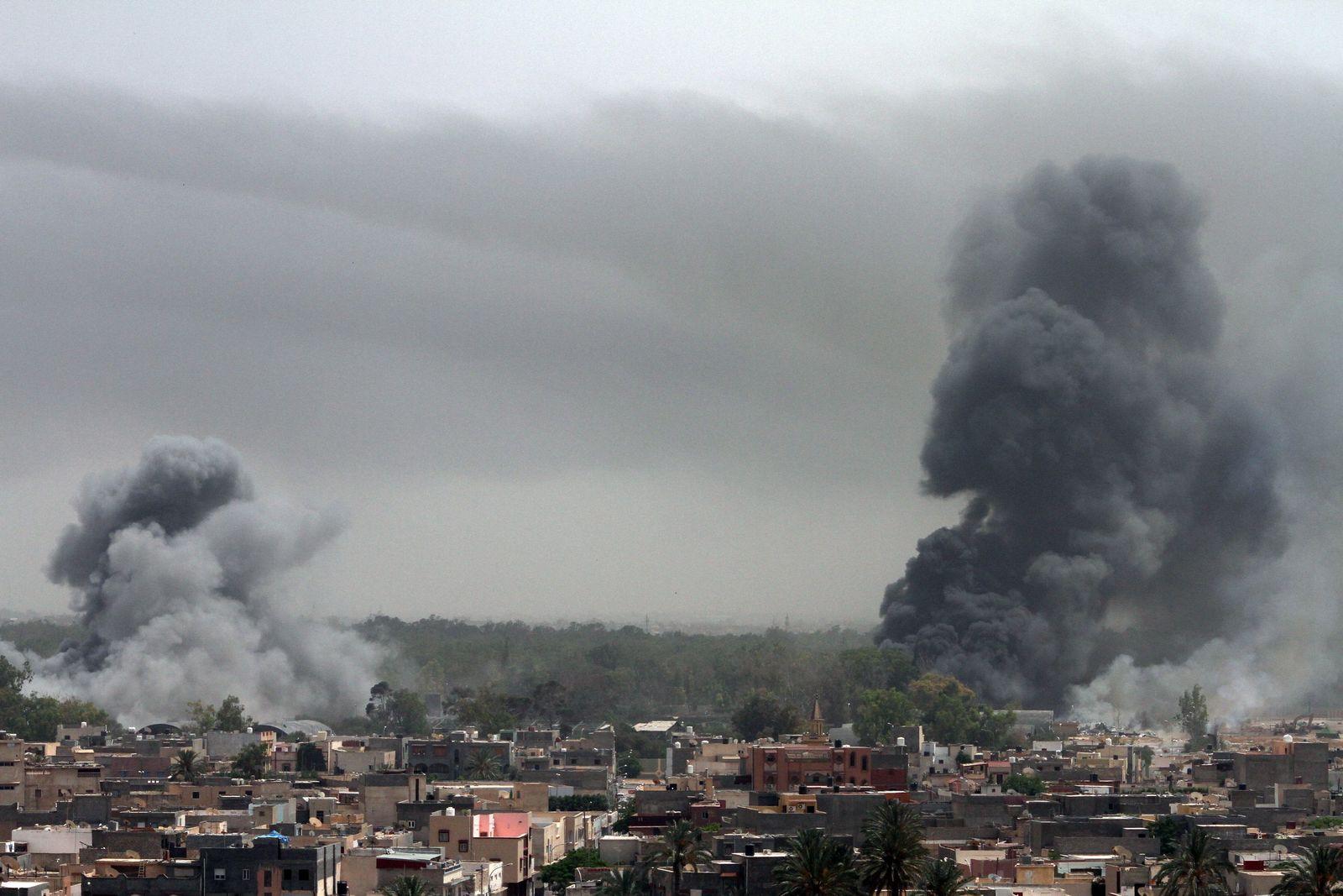 Nato-Angriff auf Tripolis