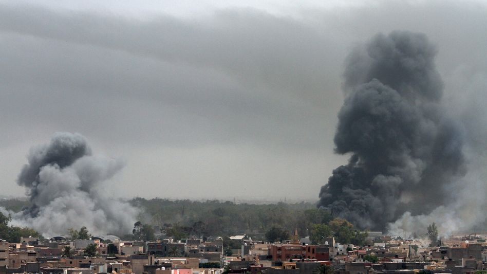 """Nato-Angriff auf Tripolis: """"Wie schützt man denn die Menschenrechte mit Bomben?"""""""
