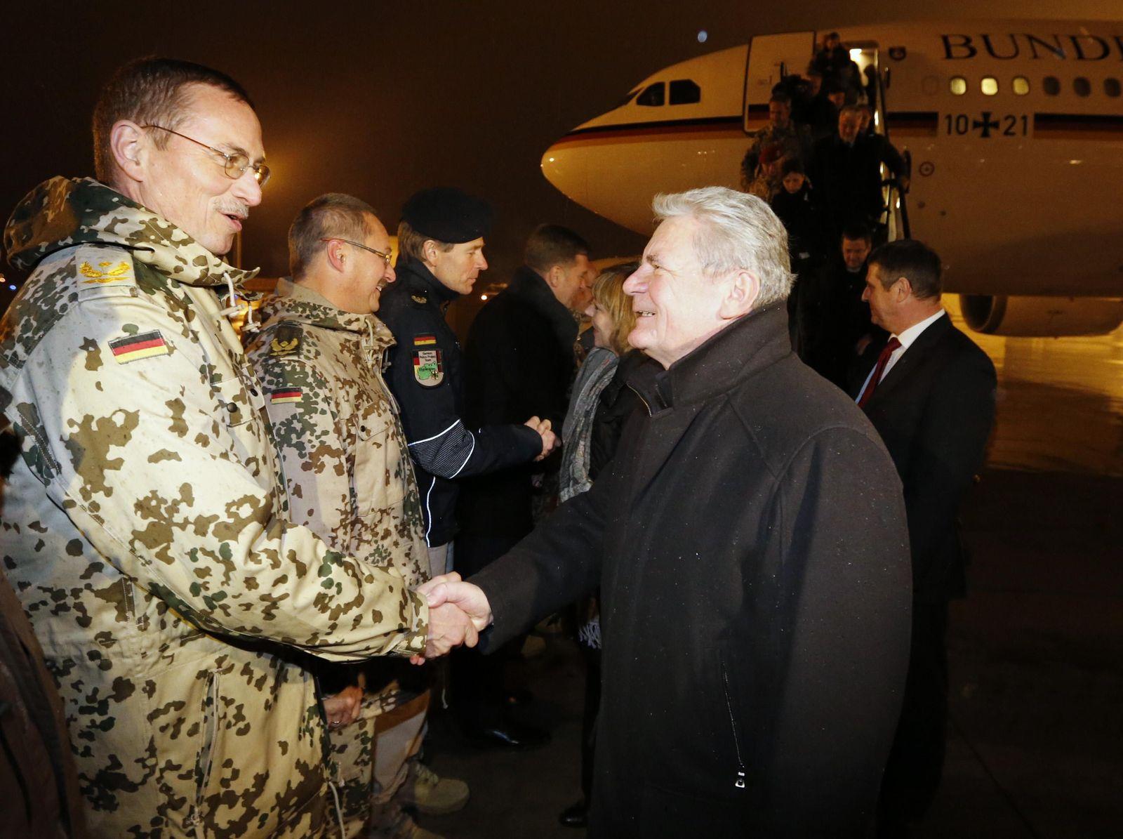 Gauck / Afghanistan