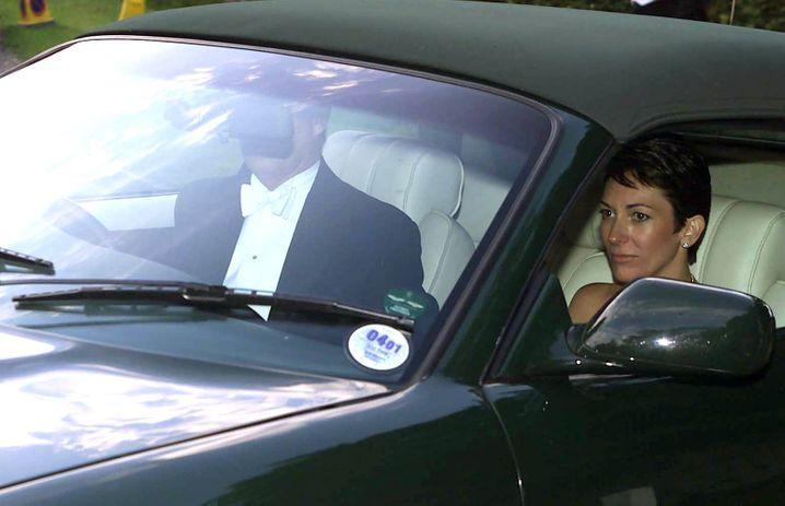 Freunde in höchsten Kreisen: Maxwell und Prinz Andrew im Jahr 2000