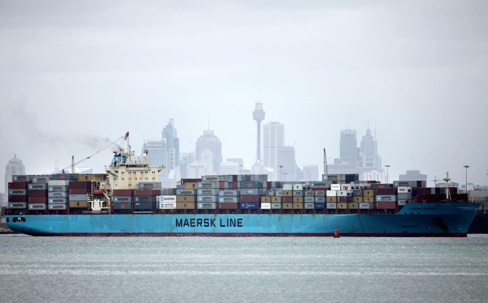 Australien / Import / Export / Konjunktur / Hafen / Cintainer