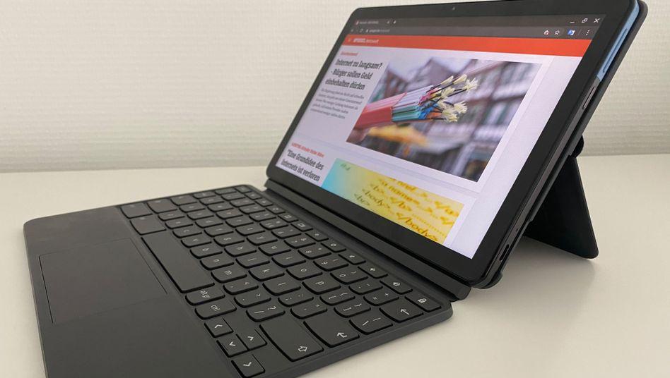 Ein bisschen Tablet, ein bisschen Notebook und kein bisschen Windows