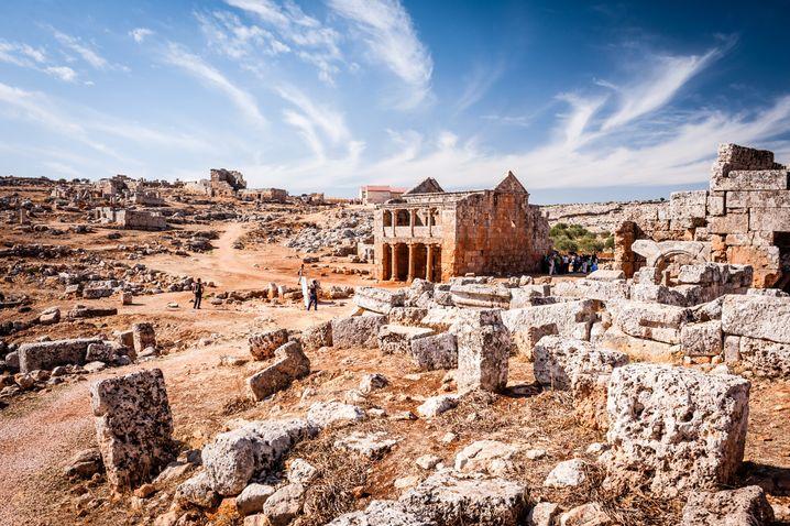 Serjilla, eine der Toten Städte, vor dem Krieg