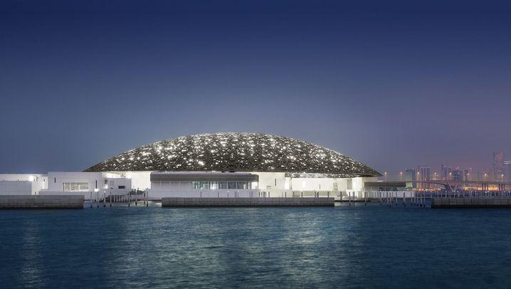 Eröffnung des Louvre in Abu Dhabi: Lichtdurchflutet wie ein Basar