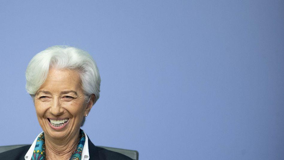 EZB-Präsidentin Christine Lagarde