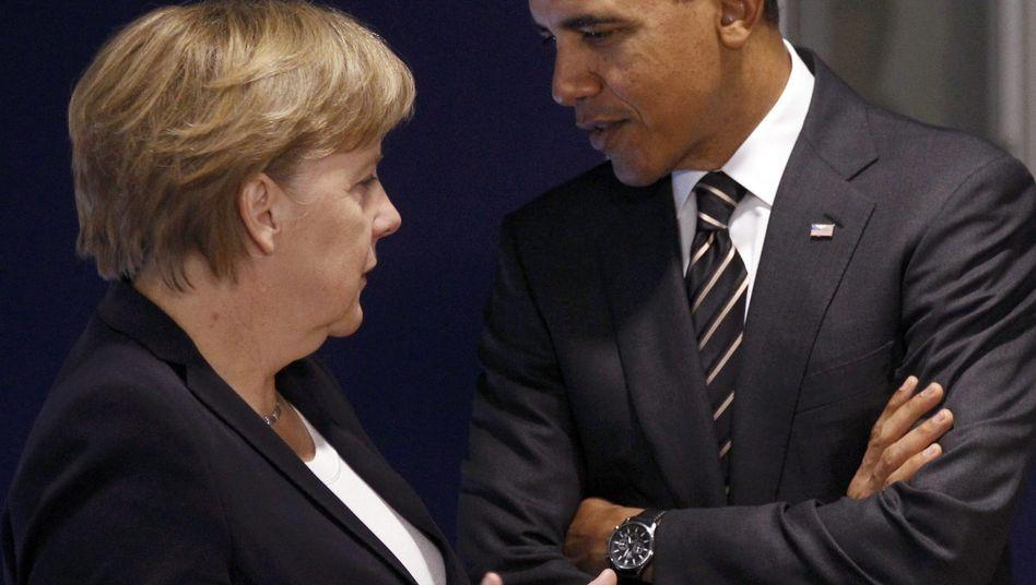 Merkel und Obama: Was treibt die Kanzlerin an?