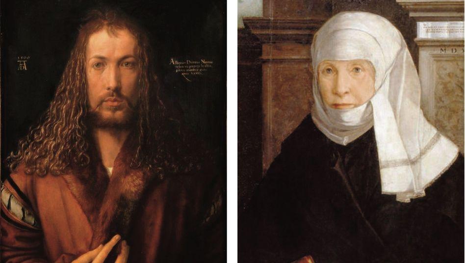 Luther-Zeitgenossen Dürer (Selbstbildnis, 1500), Peutinger (Christoph Amberger, 1543) Eine Explosion des Wissens, eine nicht zu bezähmende Neugier