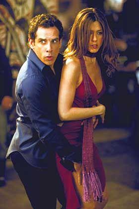 """Szene aus """"Und dann kam Polly"""", Darsteller Stiller, Aniston (r.): Bewährte Rollen-Images"""