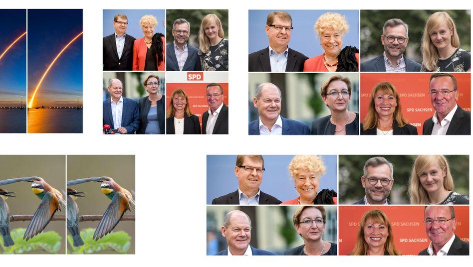 Ralf Stegner und Gesine Schwan, Michael Roth und Christina Kampmann, Olaf Scholz und Klara Geywitz, Petra Köpping und Boris Pistorius